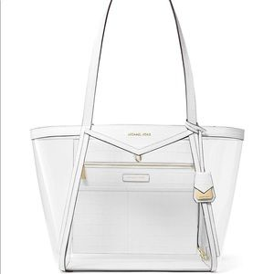 Michael Michael kors Whitney Large clear tote bag